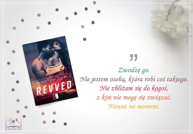 Samantha Towle - Revved || Przedpremierowa recenzja patronacka
