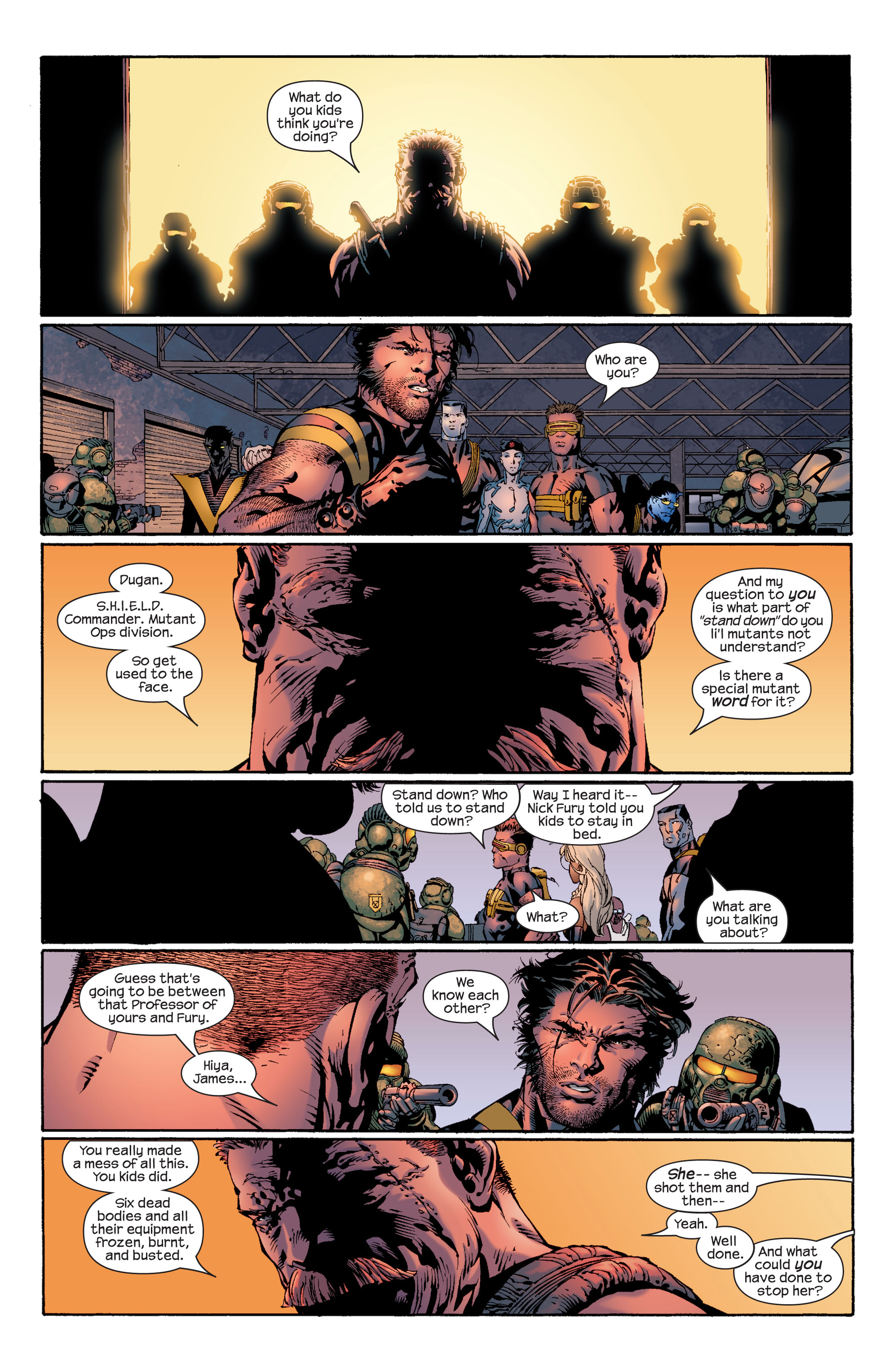 Read online Ultimate X-Men comic -  Issue #39 - 15