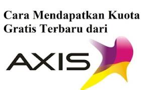 Kuota Gratis Axis