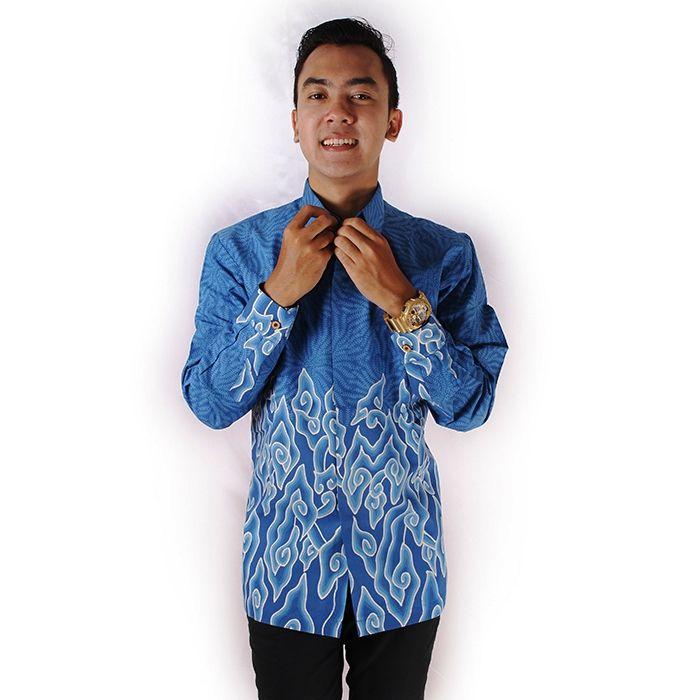 Celana Untuk Batik Pria: ッ 12+ Model Kemeja & Gamis Batik Mega Mendung Untuk Pria