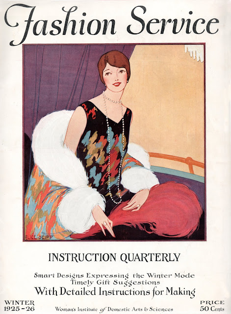 Fashion Service Magazine Instruction Quarterly, Winter 1925-1926