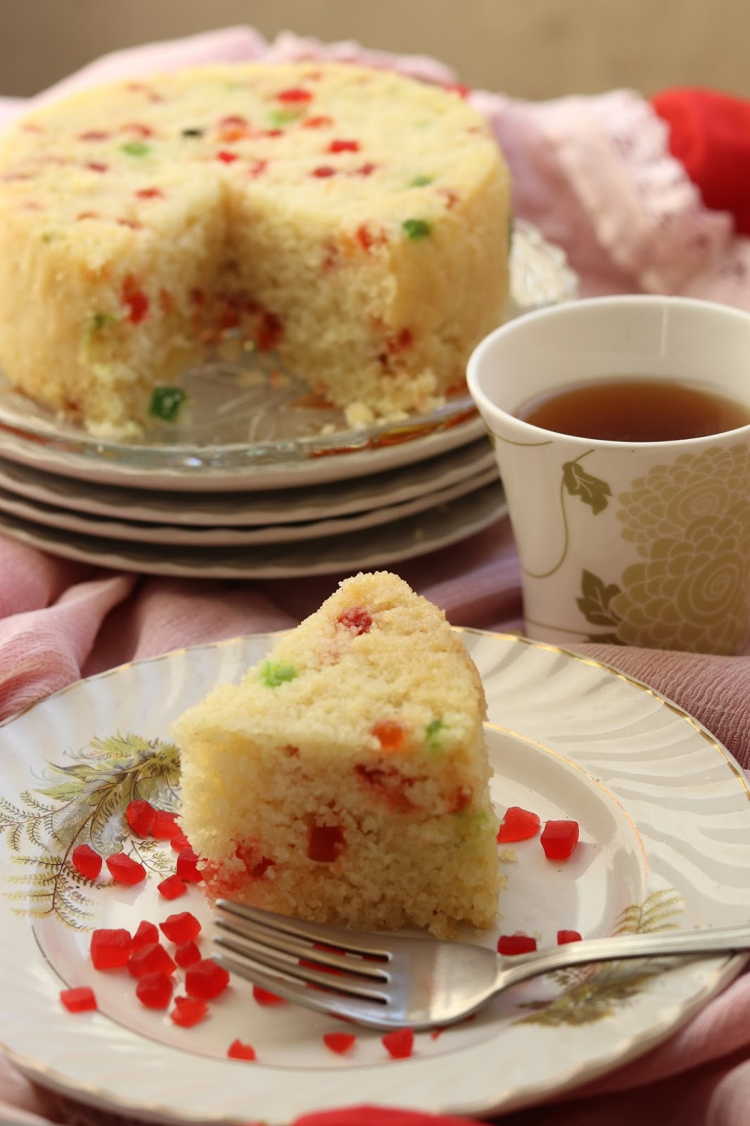 Rava cake recipe in pressure cooker healthy kadai here is the video recipe for easy reference forumfinder Choice Image