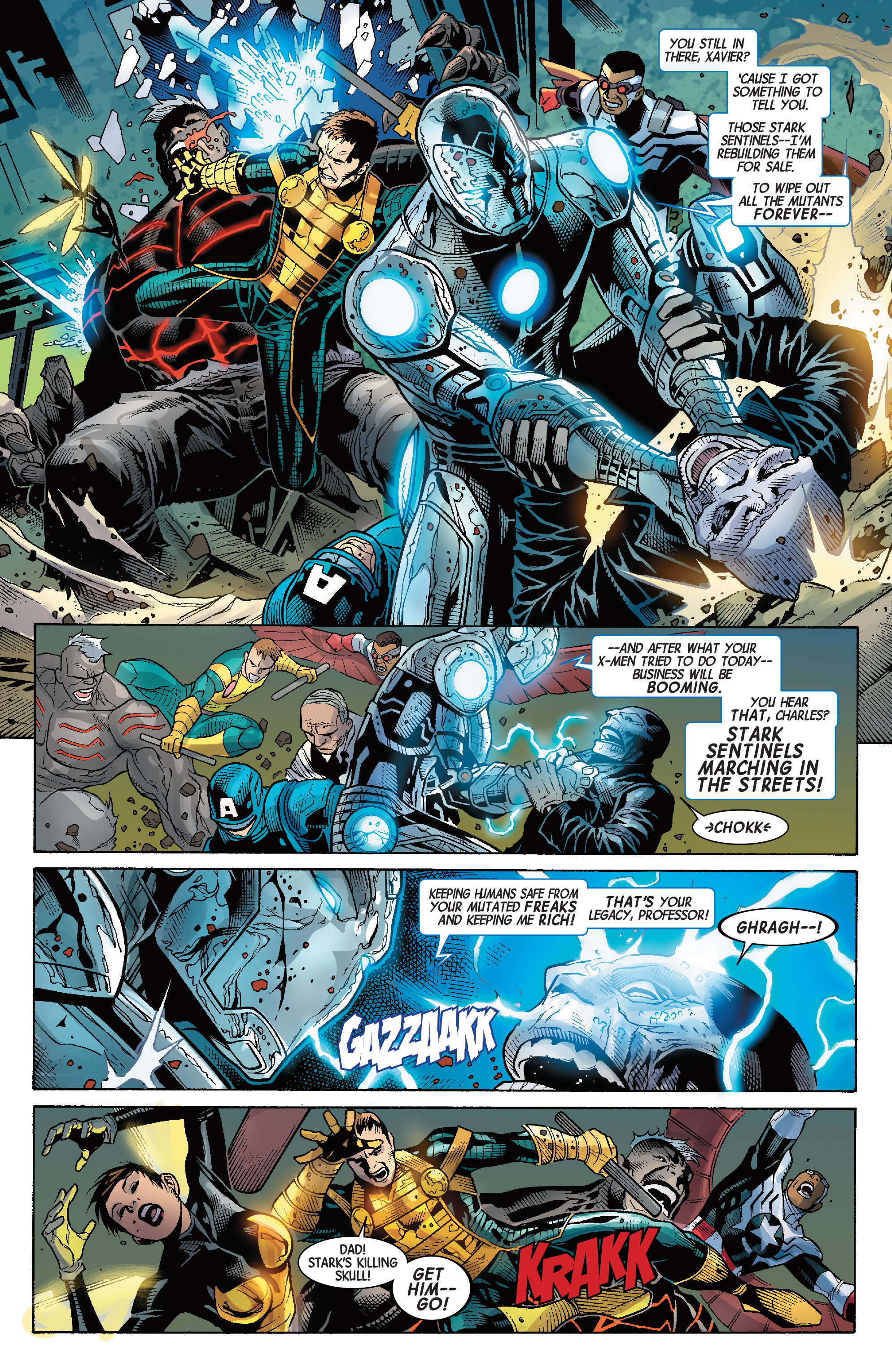 Read online Avengers & X-Men: AXIS comic -  Issue #9 - 21