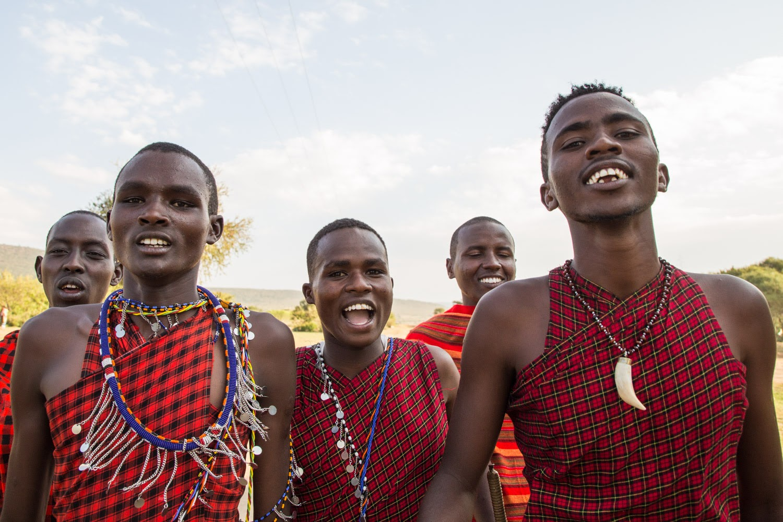 Jóvenes masais