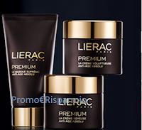 Logo ''Invita un'amica Premium'' e vinci 100 rituali di bellezza Lierac
