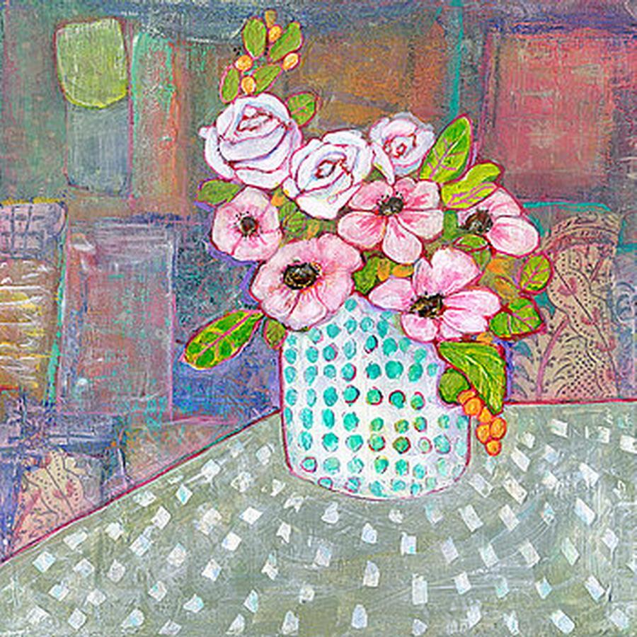Cuadros modernos pinturas y dibujos flores de tonos - Tonos de pintura ...