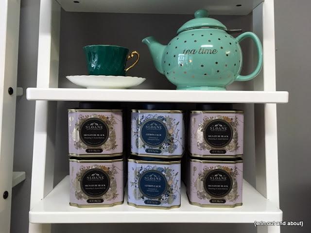 {ErinOutandAbout} MacaronZ Sloane Tea