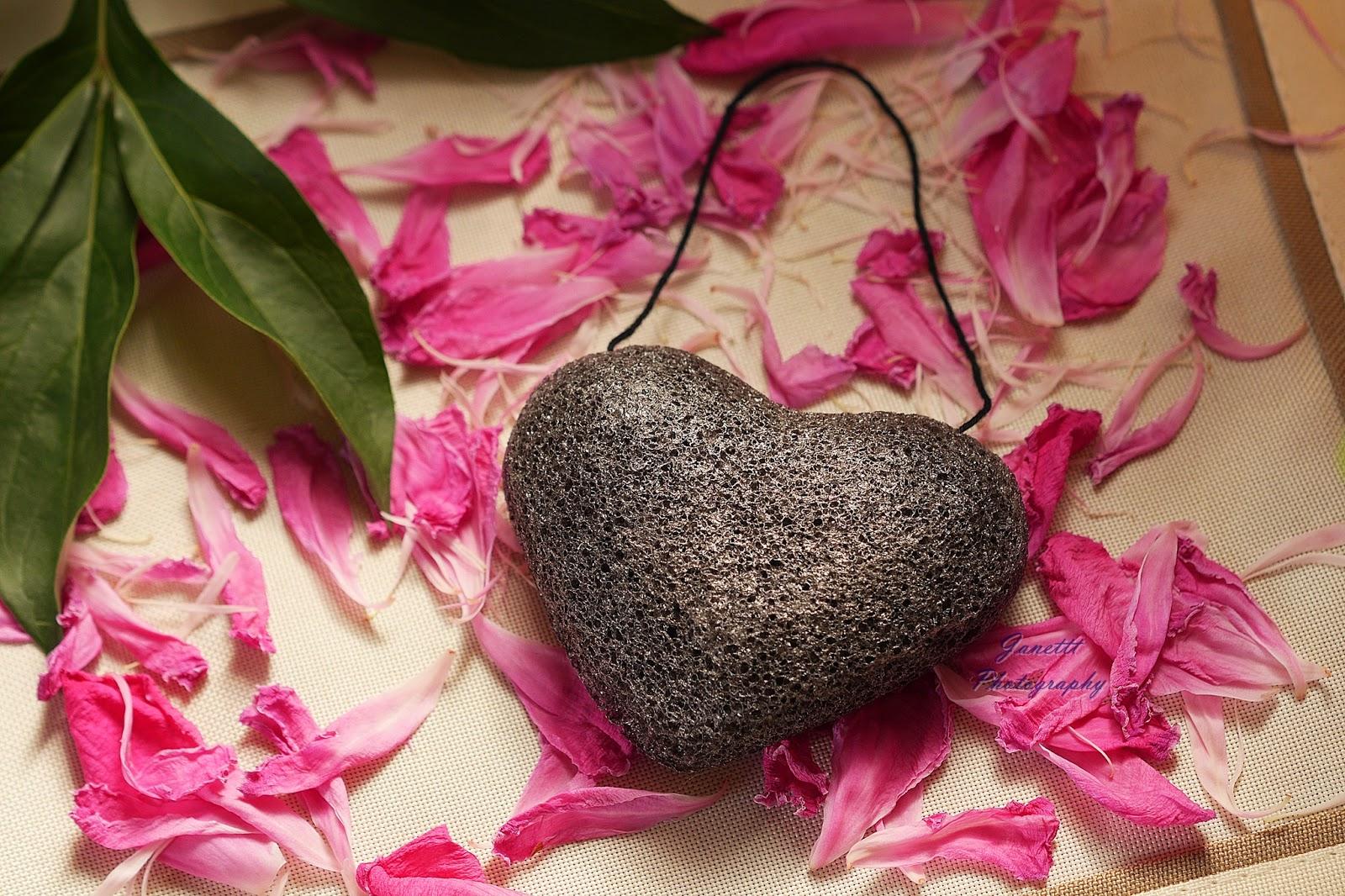 Gąbka Konjac w kształcie serca - Aliexpress