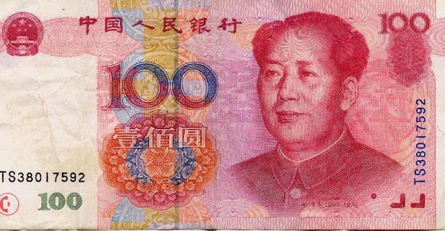 dolar, china,