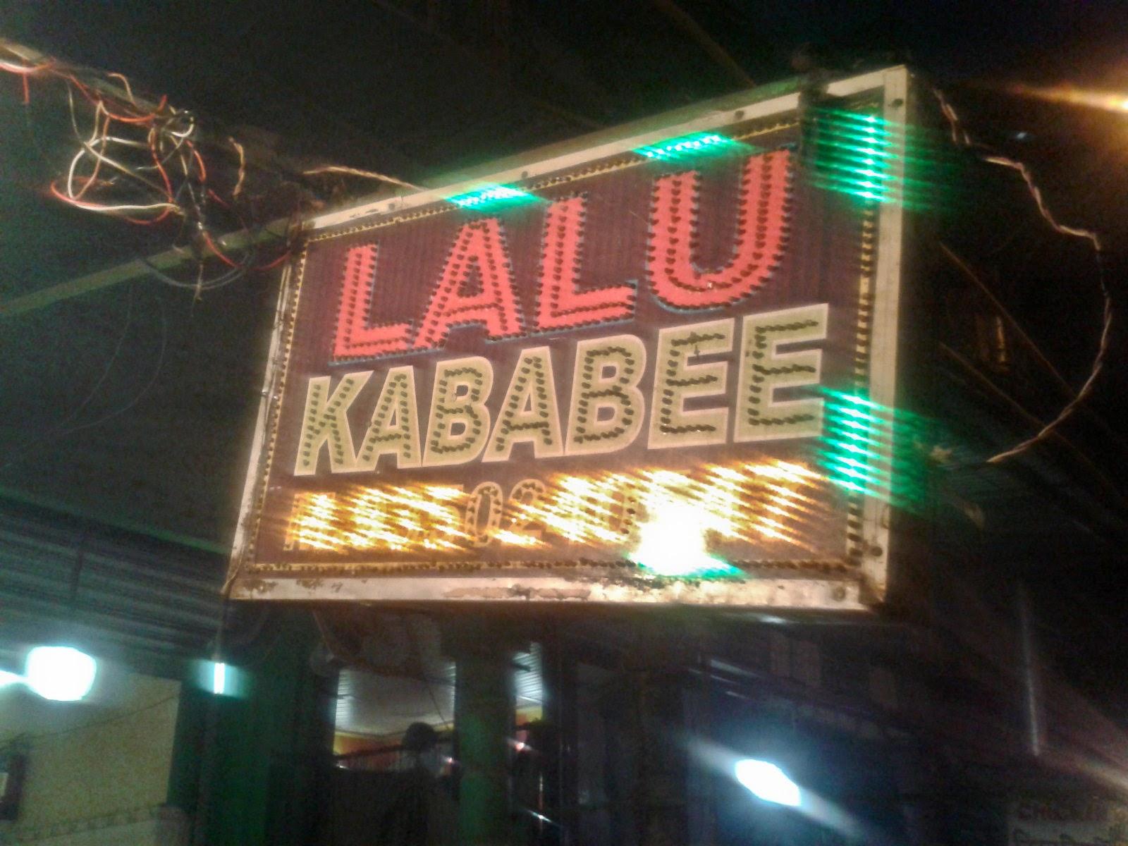 Foodaholix Lalu Kababee