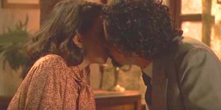 Emilia Cesario bacio Il Segreto foto