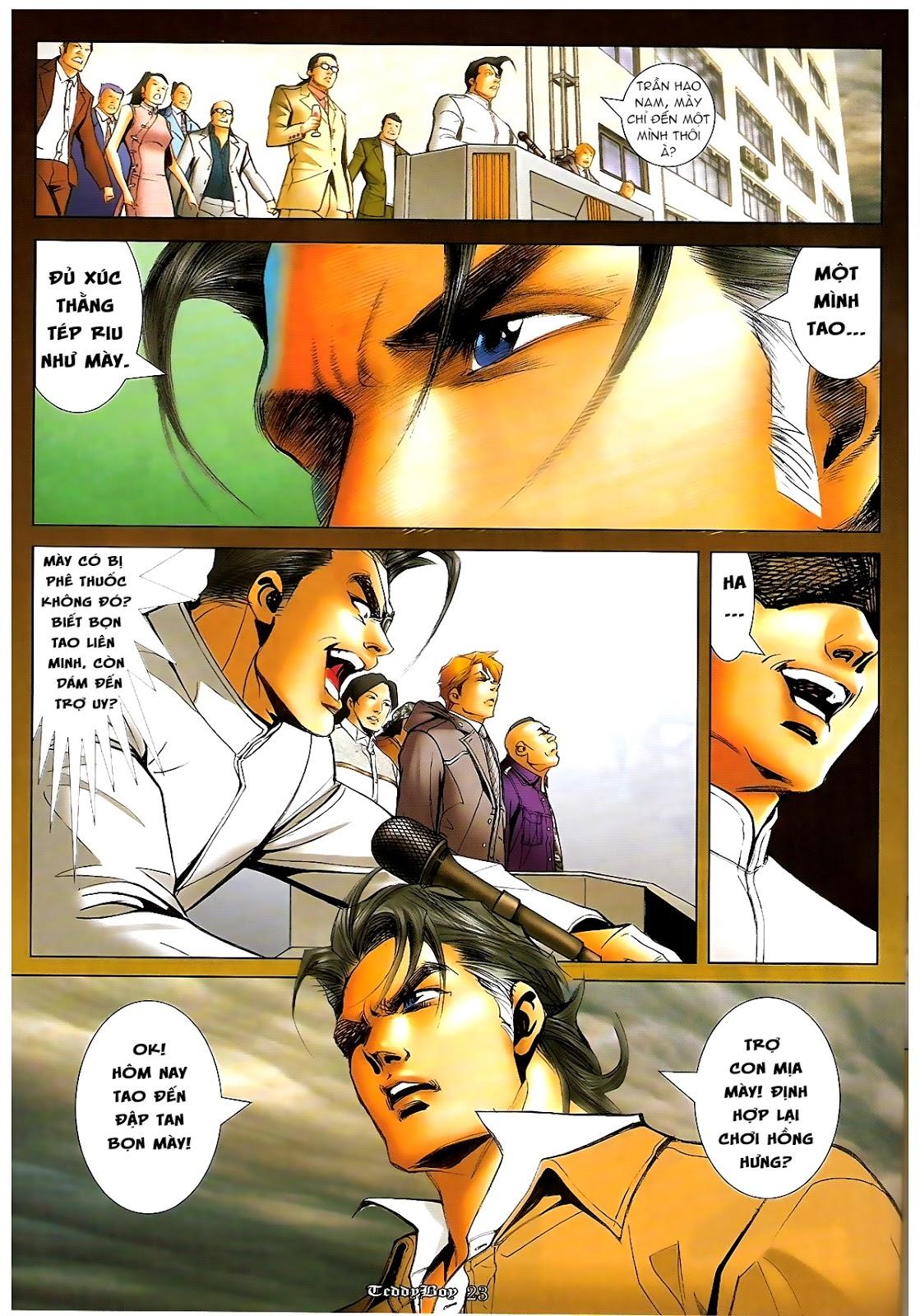 Người Trong Giang Hồ - Chapter 1218: 1 vs 1000 - Pic 22