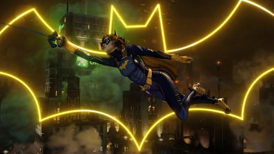 Batgirl, Gotham Knights, Logo, 4K, #3.2563