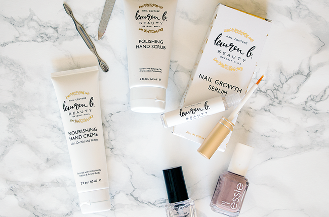 How-To: At Home Manicure with Lauren B. Beauty