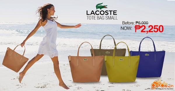 c49f6453724 Lacoste Tote Bag: Preppy Fashion Indulgence! - ♥ lily's corner ♥