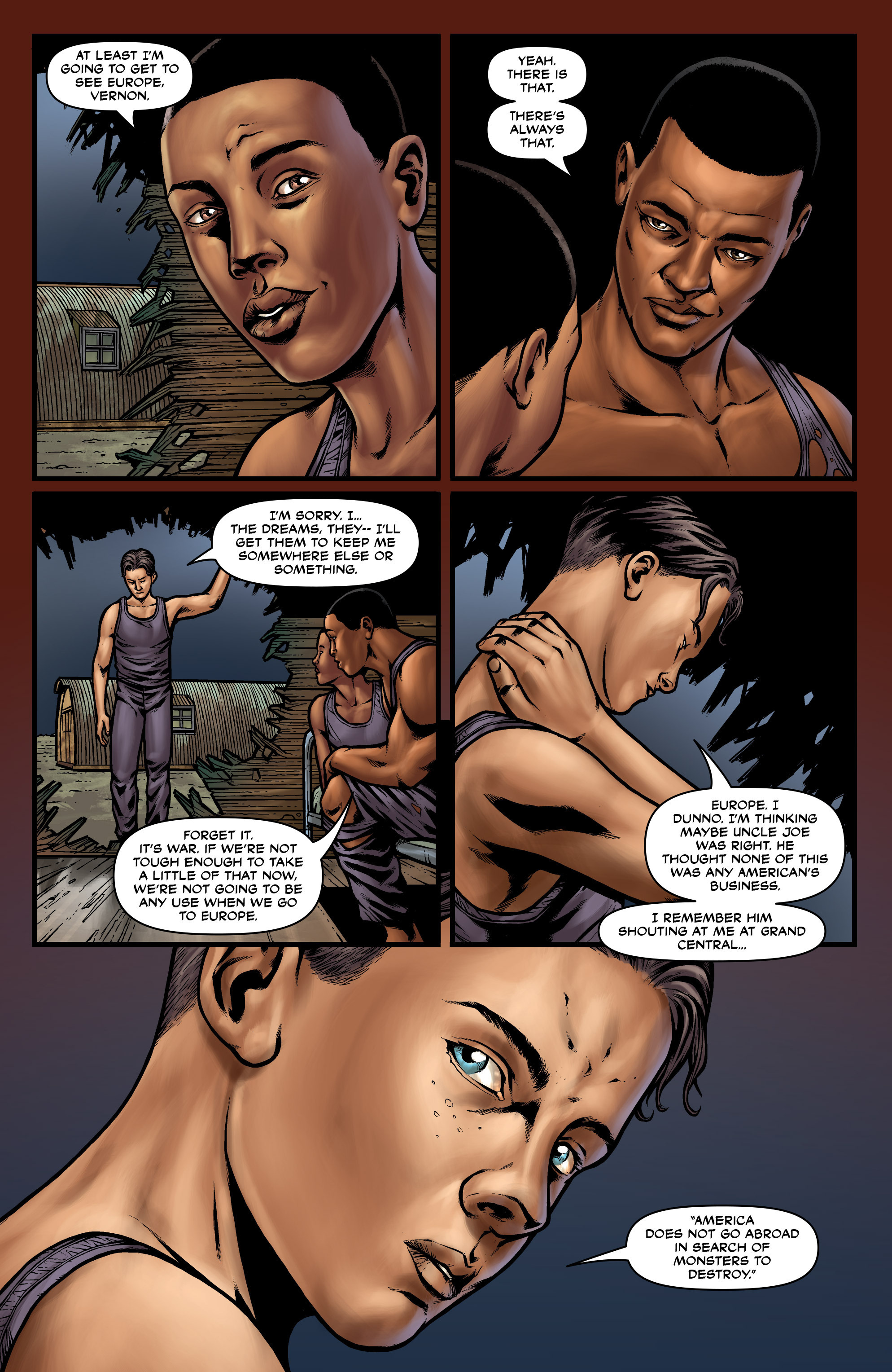 Read online Uber comic -  Issue #27 - 22