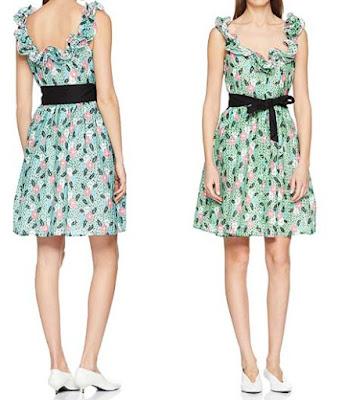 vestido manoush estampado de flores