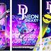 Personaliza el teclado de tu teléfono con DJ Purple Neon