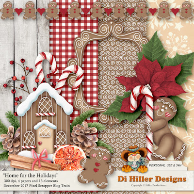 December Blog Trains and a new Fan Freebie