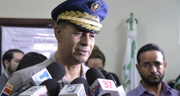 Confirman director regional Cibao Central de la PN