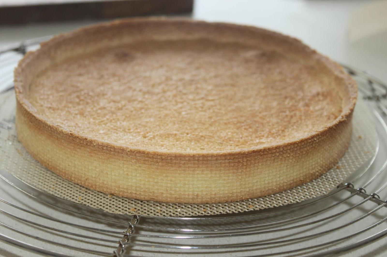 La cuisine de bernard tarte aux fraises citron et basilic - Cuisine de bernard tarte au citron ...