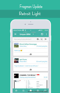 BBM Retroit Light v3.3.1.24 APK