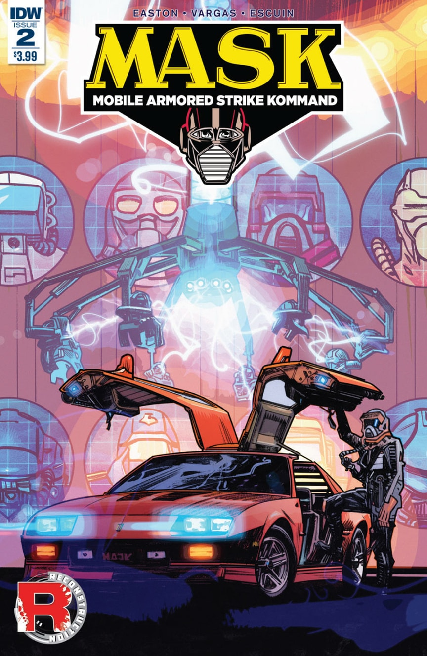 m a s k 2 now available in comic shops and digital download