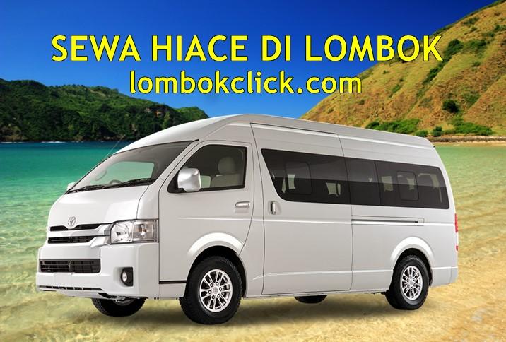 Sewa Hiace di Lombok untuk Liburan