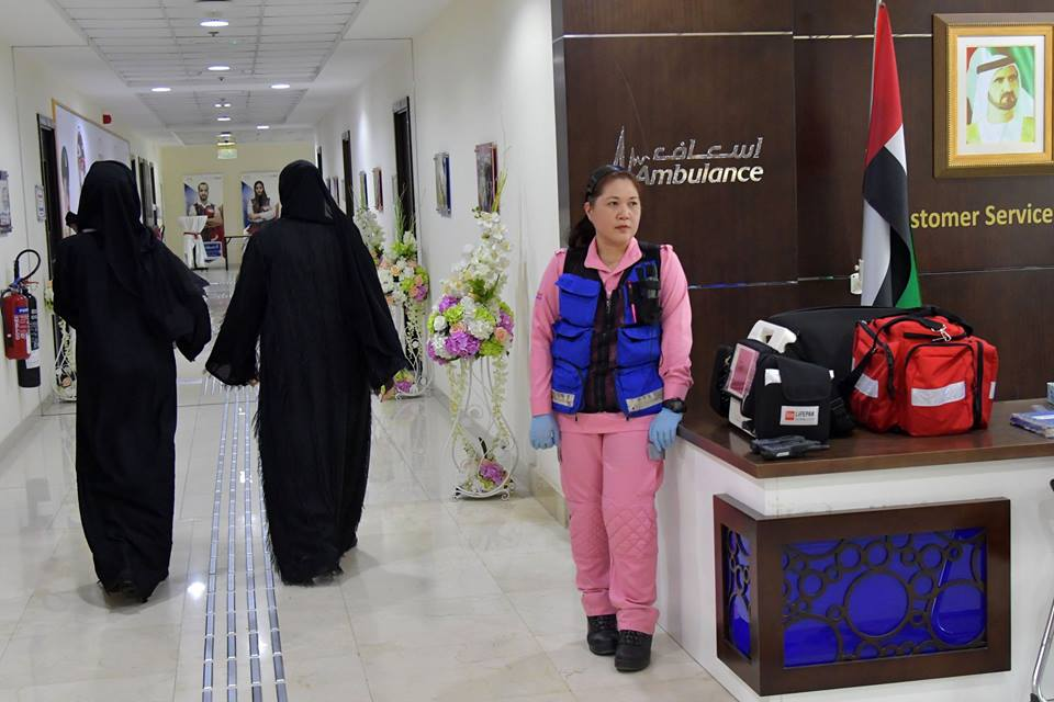 First women-only emergency team launched in Dubai