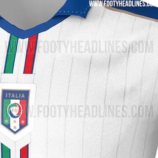 gambar bocoran jersey euro 2016 Detail jersey timnas Italia away terbaru Euro 2016 Perancis di enkosa sport