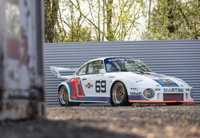 1976 Porsche Martini 934 5 Coupe Racing Car