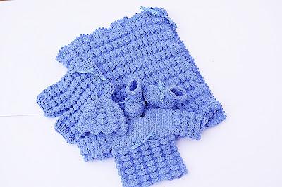 3 - Crochet, imagen linda sencilla cobija a relieve. Majovel Crochet