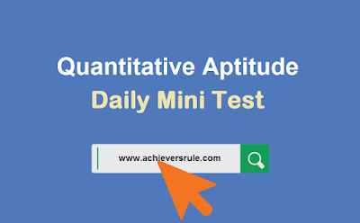 Quantitative Aptitude for IBPS PO Prelims
