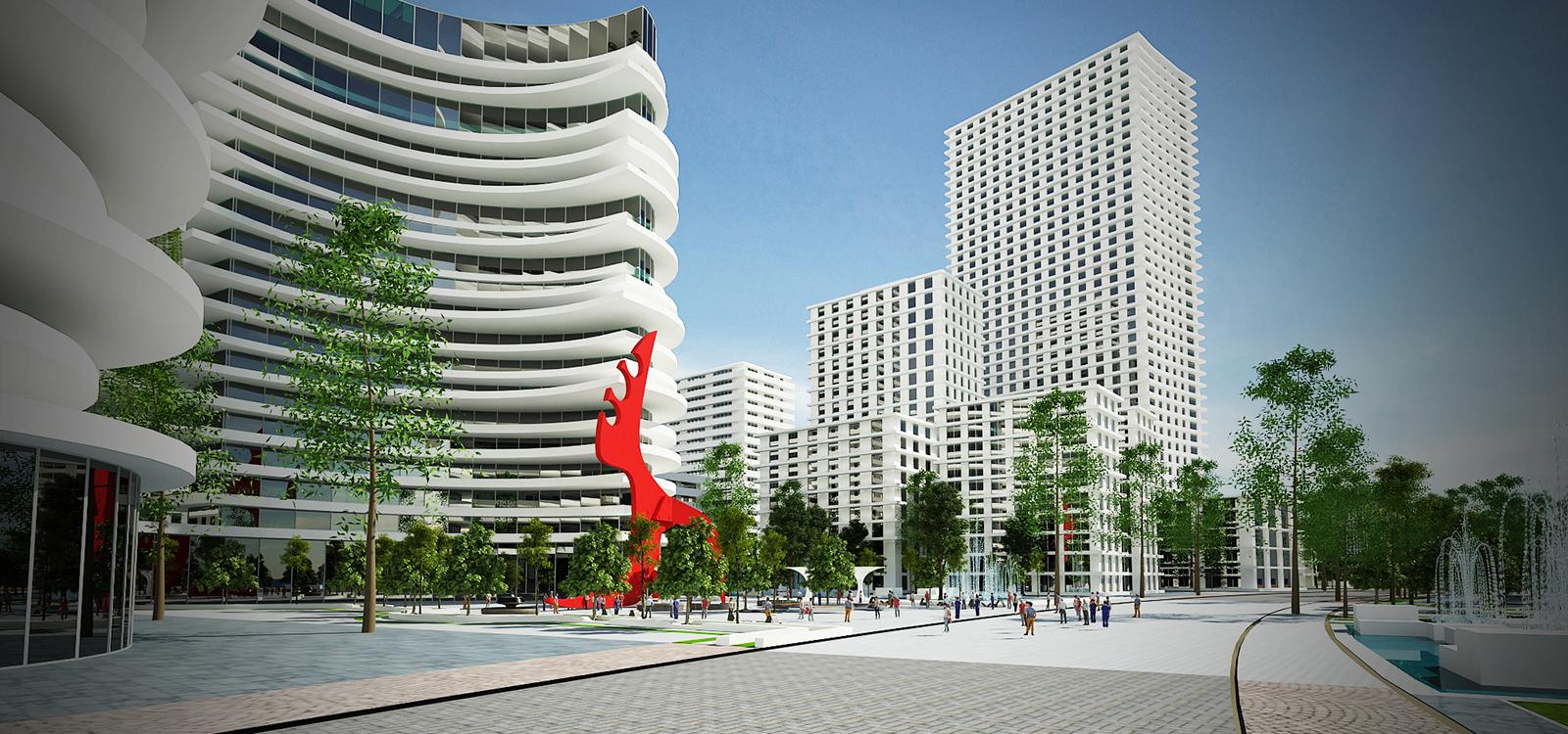 Khách sạn A la carte Hạ Long - Một dự án nằm trong quy hoạch KĐT Hùng Thắng