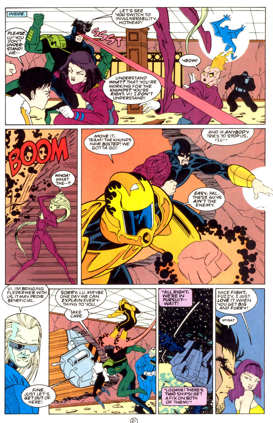 Legion of Super-Heroes (1989) 57 Page 21