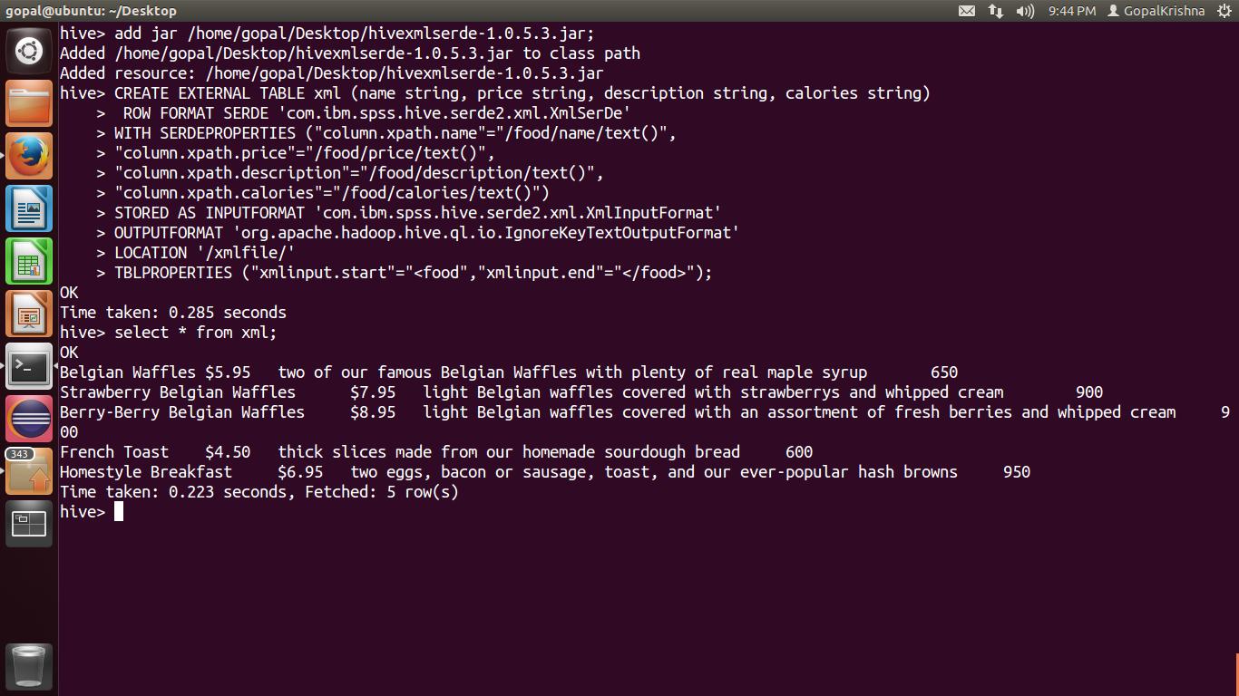 UNDERSTANDING HADOOP BY MAHESH MAHARANA: XML FILE PROCESSING