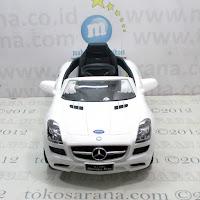 Mobil Mainan Aki Pliko PK6600 Mercedes Benz SLS AMG Lisensi