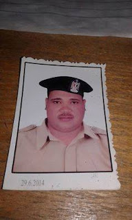 جنازة عسكرية لثاني شهيد بالفيوم ألان سائق رئيس مباحث طامية الذي اغتالهم يد الإرهاب أمس