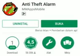 Cara Pasang Smart Alarm Anti Maling di Android