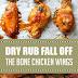 Amazing Dry Rub Fall Off the Bone Chicken Wings #glutenfree #chickenwings