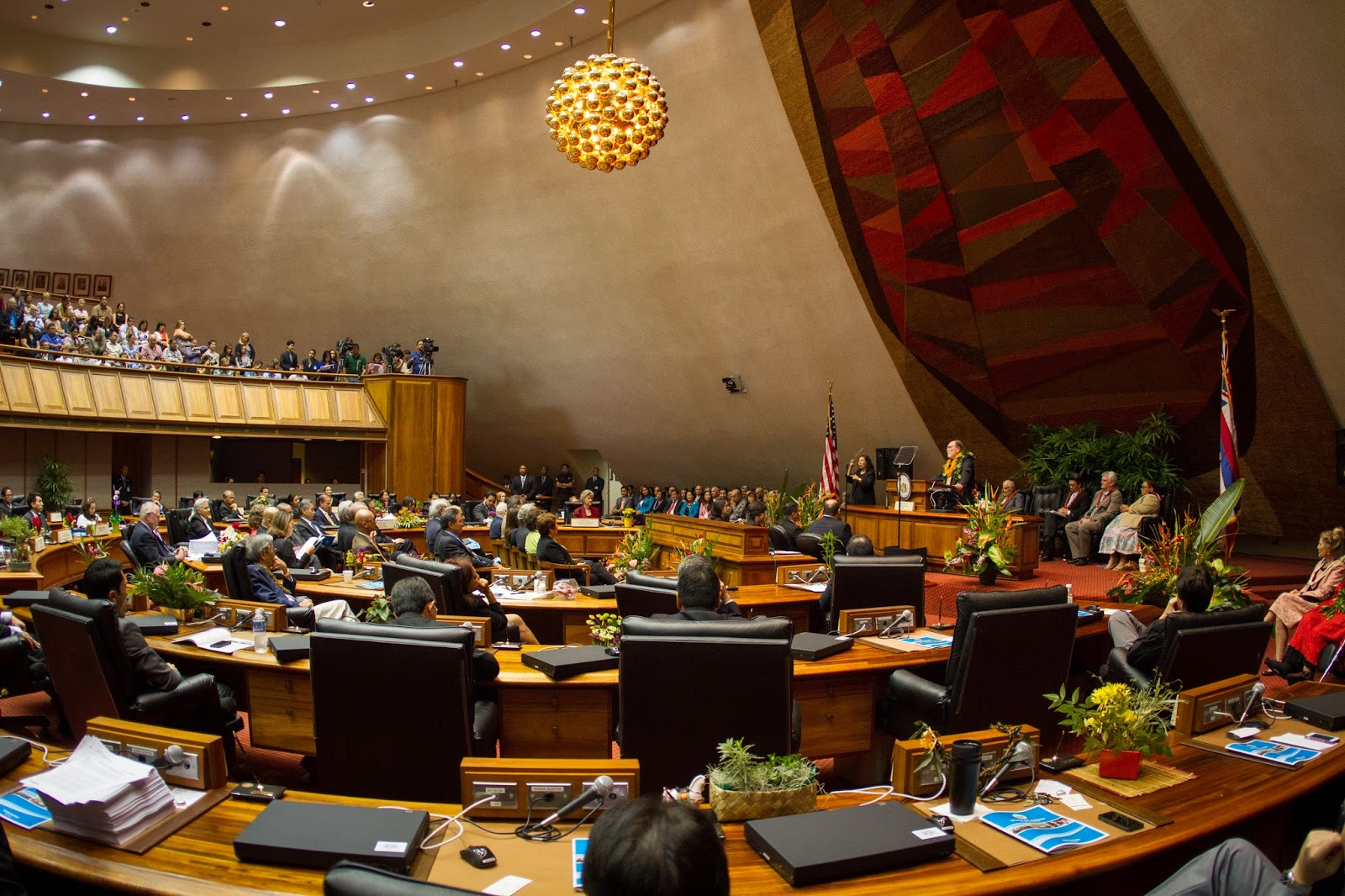 Hawaii House chambers
