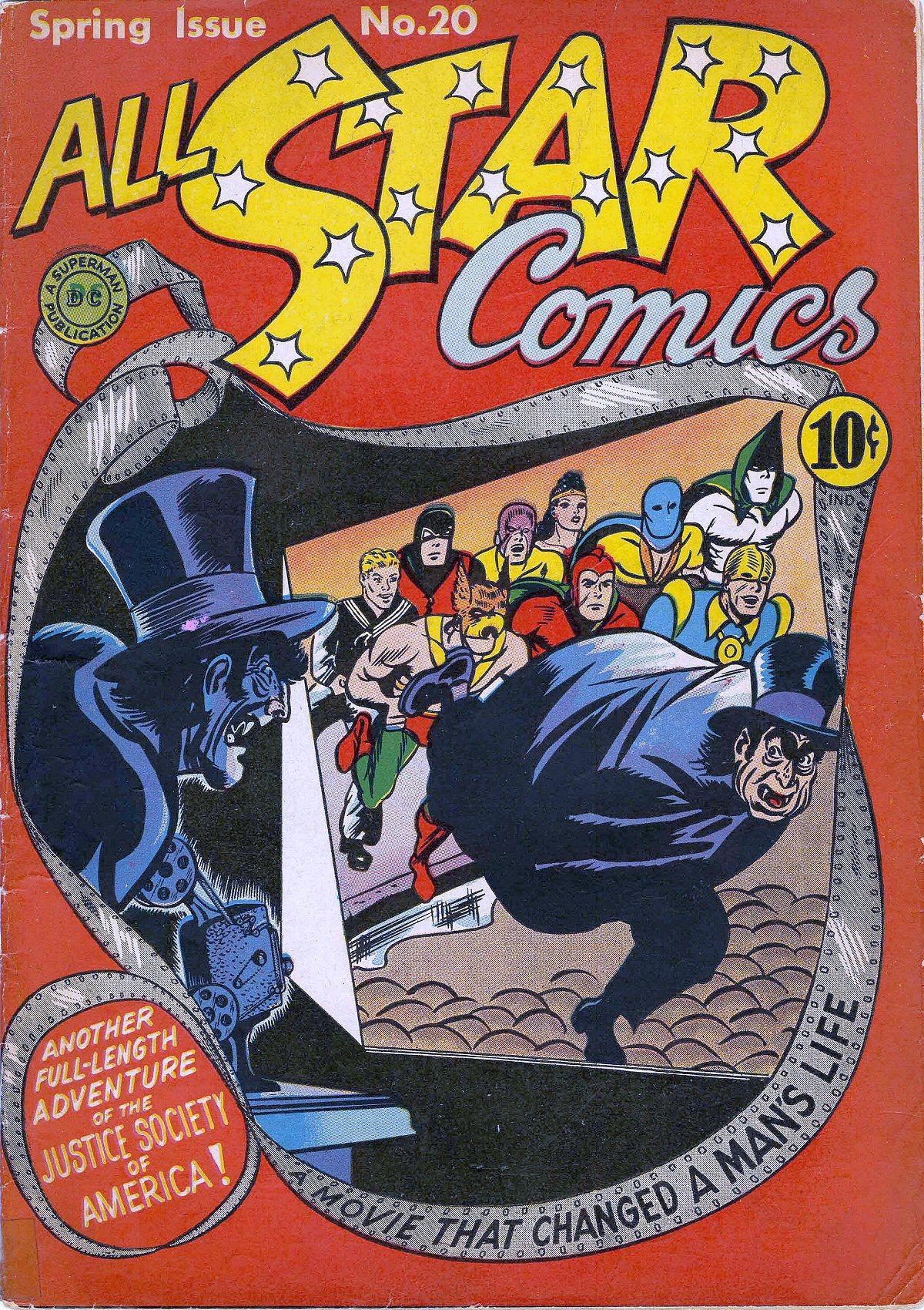 Read online All-Star Comics comic -  Issue #20 - 1