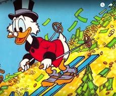 Paman Gober Memiliki Kekayaan 65 Milyar Dollar atau sekitar 800 Trilyun Rupiah