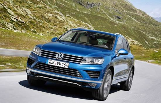 2018 Volkswagen Touareg Review