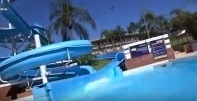 Turista perde a vida ao ser sugada na piscina do Parque Acquamania em Foz do Iguaçu