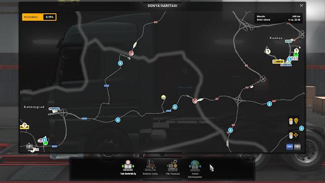 ets 2 google maps navigation for promods v1.8 screenshots 5