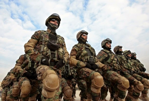 Iraq TradeLink News Agency: Iraqi Delta forces scatter in