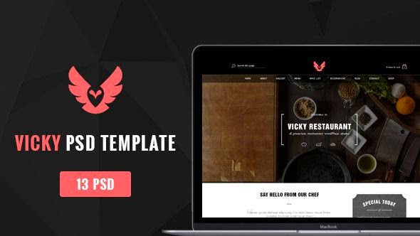 30 New Awesomely Design Templates of 6 April 2015