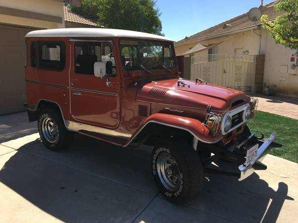 1978 Toyota Land Cruiser BJ40 for Sale