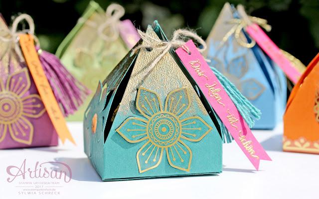 Stampin Up-Orientpalast-orientalische Boxen